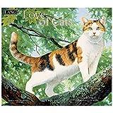 [壁掛け カレンダー 2018]ラング LANG/LOVE OF CATS Persis Clayton Weirs ねこグッズ