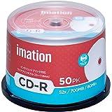 imation イメーション 1回記録用 CD-R IM001 (52倍速/50枚)