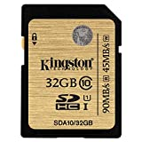 キングストン Kingston SDカード 32GB Class10 UHS-I 対応 SDHC SDA10/32GB 永久保証