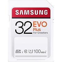 Samsung EVO Plus SDカード 32GB SDHC UHS-1 U1 100MB/s MB-SC32H/E…