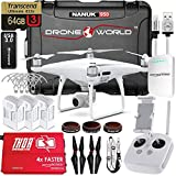 Drone World DJI Phantom 4 Pro Drone Executive Kit V2.0 with Nanuk 950 Wheeled Case 3 Batteries Thor Charger CF Props and Guards Filters 64GB Card iPhone Cable and Accessories (14 Items) (drone450)【並行輸入品】Amazontry