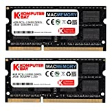 Komputerbay MACMEMORY 8GB (2x 4GB) DDR3L PC3L-12800 1.35V 1600MHz SODIMM DDR3 204-Pin ノートパソコンのメモリ