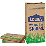 Lowes 30 Gallon Paper Lawn Leaf Trash Bags (10 Bags), Lava Heavy Duty Gardening Hand Soap for Yard Garden Clean Up and Cleani