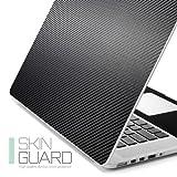 【Spigen】 MacBook Pro with Retina display 15インチ スキンガード スキンシール カーボン (15インチ, ブラック【SGP09410】)