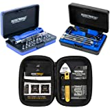 Music Nomad KEEP IT SIMPLE, SETUP (KISS) Starter Kit Bundle - 6 pc. Gauge Set, 26 pc. Guitar Tech Tool Set, 11 pc. Truss Rod