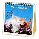 日本ホールマーク 笑顔のために猫 2016年 カレンダー 卓上 小 690823