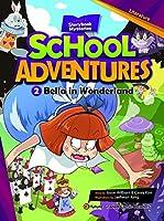 e-future School Adventures レベル2-2 Bella in Wonderland CD付 英語教材