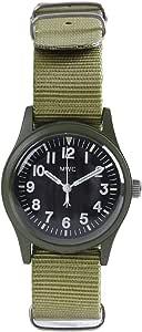 MWC MIL/1966/OL Military Watch ブロードアロー オリーブグリーン (グリーン)