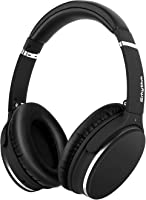 Lightweight Active Noise Cancelling Bluetooth Headphones, Srhythm Foldable Wireless Over Ear Headset with Deep Bass (Low...