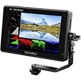 FEELWORLD LUT7 7 Inch Ultra Bright 2200nit Touch Screen Camera DSLR Field Monitor with 3D Lut Waveform Vectorscope Automatic