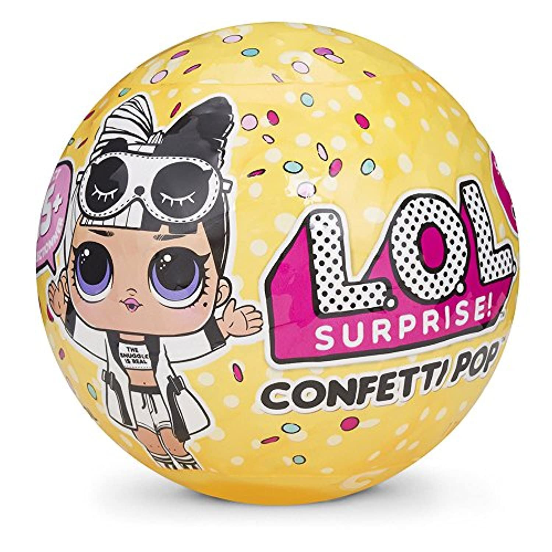 L.O.L. サプライズ! シリーズ3-2 コンペティーポップ LOL Surprise Doll Series 3 Wave 2 Confetti Pop [並行輸入品]