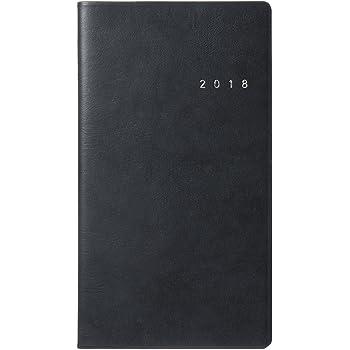 能率 NOLTY 手帳 2018年 1月始まり ウィークリー リスティ2 ブラック 6503