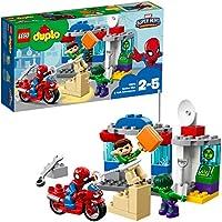 レゴ(LEGO) デュプロ スパイダーマンとハルクのぼうけん 10876