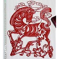 切り絵(十二支)・中国民間芸術切り紙細工