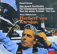 R.STRAUSS: ALSO SPRACH ZARATHUSTRA TILL EULENSPIEGEL DON JUAN by Herbert Von Karajan / Vienna Philharmonic Orchestra (2013-05-15)