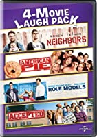 Neighbors / American Pie / Role Models / Accepted [DVD] [Import]