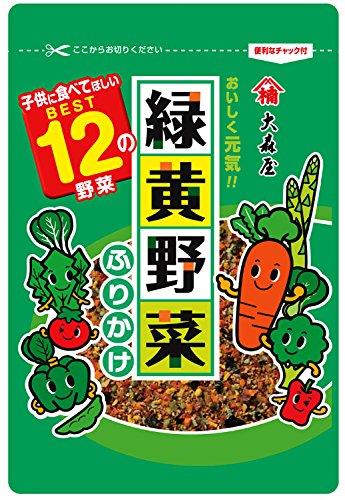 大森屋 緑黄野菜ふりかけ 45g×10個