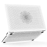 AndMesh MacBook Pro ケース 13インチ メッシュケース ゴム足付き 放熱対策【Amazon.co.jp限定】ホワイト AMMBC101-WHT [対応モデル:A1706/A1708 2016年/2017年 (Touch Bar有り無し両対応)]