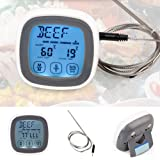 QZ Oven Household Probe Digital Touch Screen Thermometer BBQ Cooking Food Meat