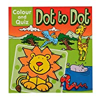 Colour and Quiz Dot to Dot