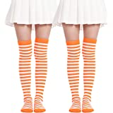 Womens Thigh High Socks Soild Color Over The Knee Long Stockings