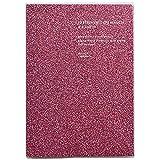 ラ・アプス 手帳 2020年 B6 ウィークリー マットグリッター ピンク AG-2704 (2019年 11月始まり)