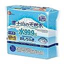 富士山の天然水 水99.9 おしりふき 60枚入×6個 (富士裾野工場 限定生産)