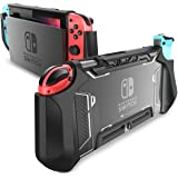 Dockable Case for Nintendo Switch - Mumba [Blade Series] TPU Grip Protective Cover Case Compatible with Nintendo Switch Conso