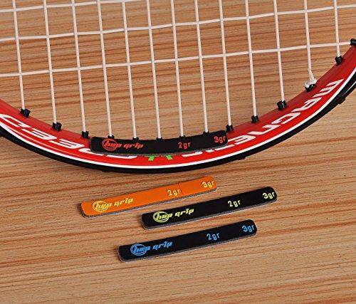テニス バランサー テープ tennis lead tape 4本入り ラケット用小物