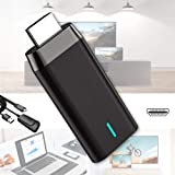 Wireless WiFi Display Adapter Dongle, 1080P& Dual Band WiFi Bluetooth Miracast Adapter Mirroring Screen, Support 5G/2.4G HDMI