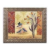 商標Fine Art Garden Party by Rachel Paxtonアートワーク 16x20 ゴールド ALI2526-G1620F
