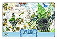 (Into the Woods) - Michel Design Works 25 Count Into the Woods Paper Placemats, Multicolor