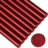 "Sealing Wax Rod Blood Red for Standard Size Glue Gun - 5.4""(L)"