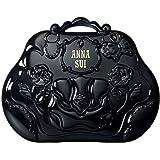(アナスイ) ANNA SUI ハンドバッグ メイクアップ パレット メイク小道具 化粧 メイク コスメ カラー パレット 10色 バラ 薔薇 ローズ 黒 ミラー コンパクト