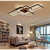 Chandelier Modern LED Dimmable Chandelier Lighting Ceiling Light Fixture Flush Mount Hanging Lamp for Living Room Bedroom Din