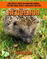 Children's Book: An Amazing Animal Picture Book About Hedgehog for Kids