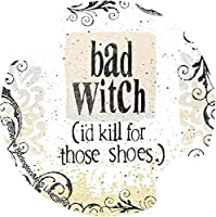 Thirstystone Bad Witch Car Cup Holder Coaster, 2-Pack