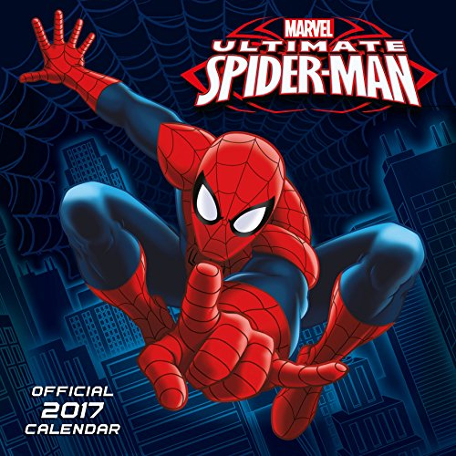 Ultimate Spiderman Official 2017 Square Calendar