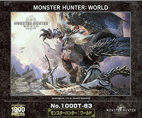1000Tピース ジグソーパズル モンスターハンター:ワールド モンスターハンター:ワールド(51x73.5cm)