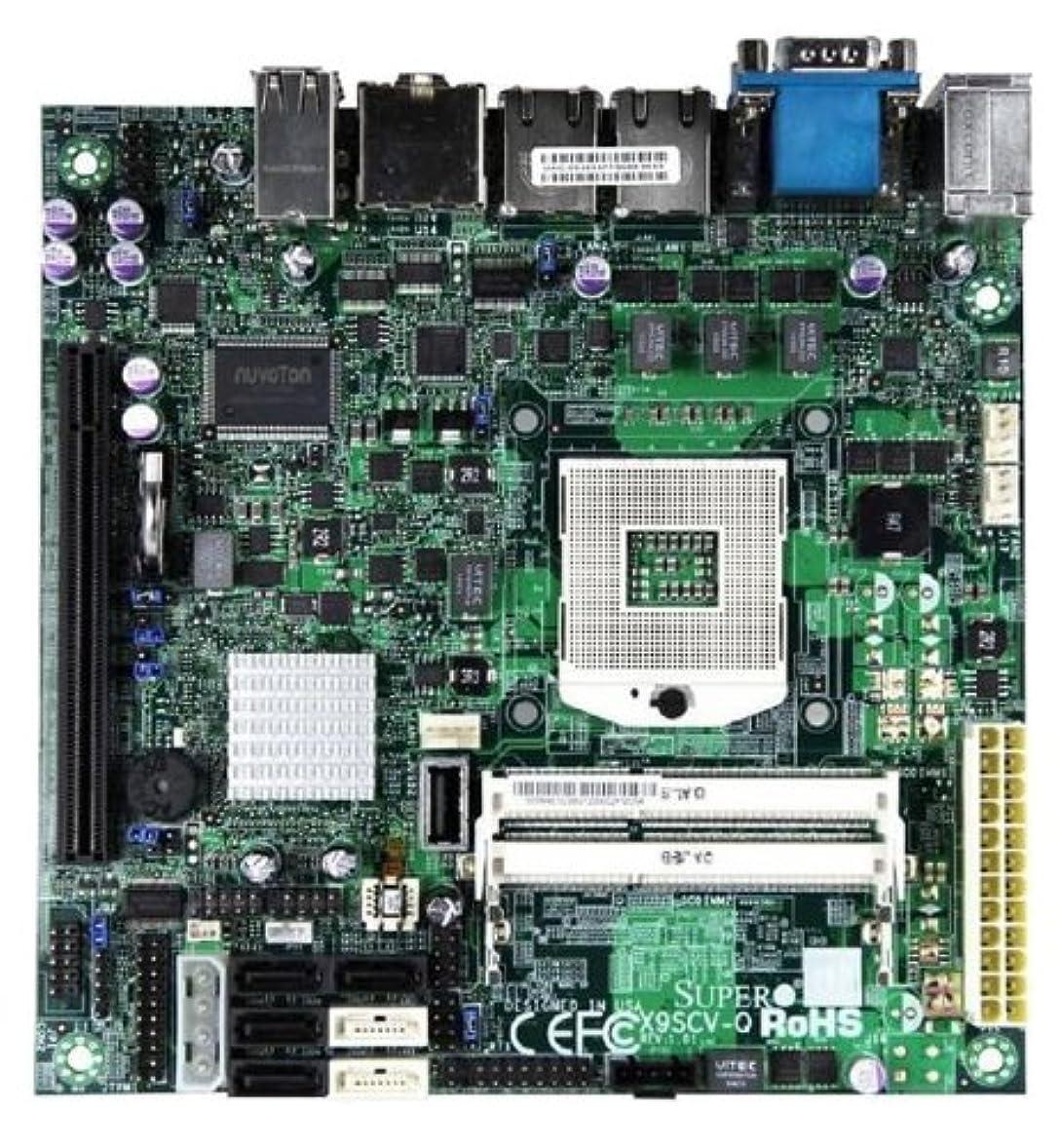 ぎこちない気配りのあるイノセンスSUPERMICRO X9SCV-Q - Motherboard - mini ITX - Socket G2 - QM67 - 2 x Gigabit LAN - onboard graphics (CPU required) - HD Audio