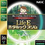 NEC 丸形スリム蛍光灯(FHC) LifeEホタルックスリム 20形 昼白色 FHC20EN-LE-SHG