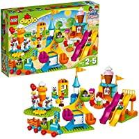 LEGO Duplo Town Big Fair 10840 Role Play and Learning Building Blocks Set for Toddlers Including a Ferris Wheel,...