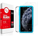 SMARTDEVIL 3 Pack Screen Protector Foils for Apple iphone 11 Pro Protective Tempered Glass Film for 5.8 Inch Screen with Inst