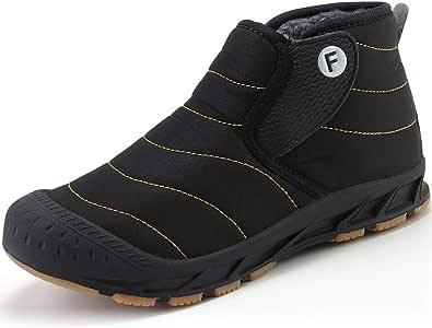 [JOYWAY] スノーシューズ メンズ スノー ブーツ レディース ウィンターブーツ 防寒ブーツ 防水 冬用ブーツ 軽量 秋冬シューズ 脱ぎ履きやすい 綿靴 雪