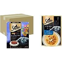 【セット買い】シーバ (Sheba) キャットフード デュオ 香りのまぐろ味セレクション 成猫用 240g×12個 (ケ…