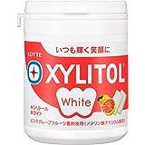ロッテ キシリトールホワイト(ピンクグレープフルーツ) ファミリーボトル 143g ×6個