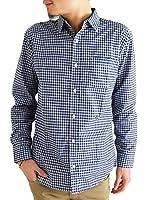 (アーケード) ARCADE 10color メンズ 春 長袖カジュアルシャツ メンズシャツ ブロード チェックシャツ