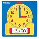 Learning Resources LER0573 Write-On/Wipe Off Demo Clock