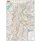 スクリーンマップ 分県地図 長野県 (ポスター地図 | マップル)