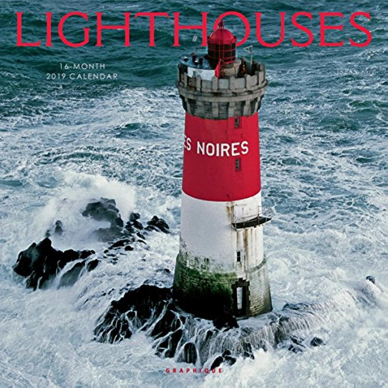 LIGHTHOUSES 2019 CALENDAR (灯台 2019年 カレンダー GF )